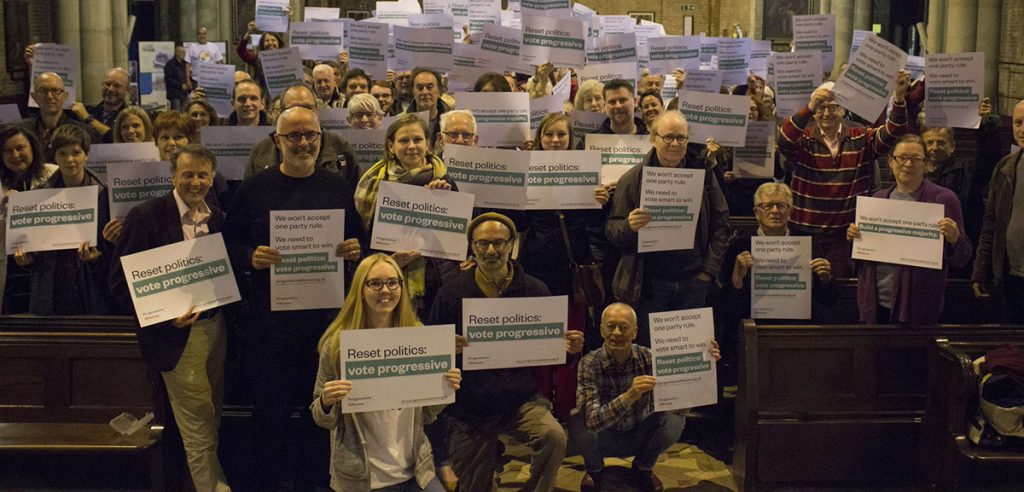Progressive Alliance meeting in Brighton