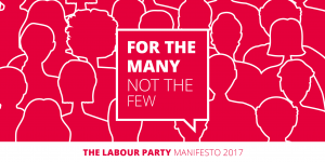 Cover of 2017 Labour Party Manifesto