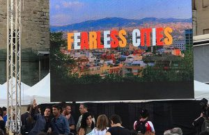 Fearless Cities banner